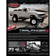 RC4WD Z-K0049 - RC4WD 1/10 Trail Finder 2 Kit w/Mojave II Hard Body