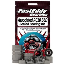Fast Eddy Assoc-RC10B6D-RS - Fast Eddy Team Associated RC10B6D Sealed Bearing Kit