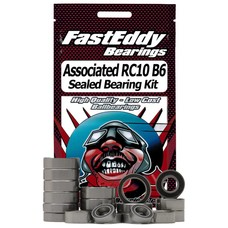 Fast Eddy Assoc-RC10B6-RS - Fast Eddy Team Associated RC10B6 Sealed Bearing Kit