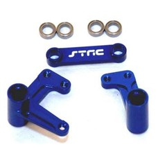 ST Racing Concepts ST3743XB - STRC Rustler Bandit Slash Steering System Blue