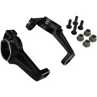 Hot Racing TRXF1901 - Hot Racing Black Aluminum C-Hubs TRX4