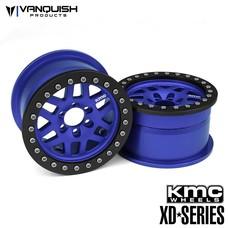 Vanquish VPS07733 - Vanquish KMC 1.9 XD229 Machete Blue w/ black Rings