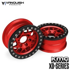 Vanquish VPS07713 - Vanquish 1.9 XD127 Bully Red w/ black Rings