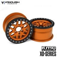 Vanquish VPS07735 - Vanquish KMC 1.9 XD229 Machete Orange w/ Black Rings