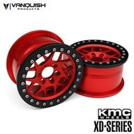 Vanquish VPS08034 - Vanquish 2.2 CD 127 Bully Red w/ Black rings