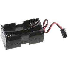Tactic TACM2020 - Tactic 4 Cell AA Battery Holder w/Futaba J Connector - TACM2020