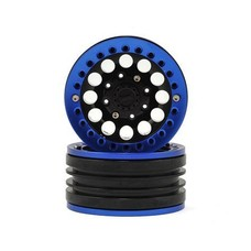 "Xtra Speed XS-59564BU - Xtra Speed Aluminum 1.9"" Iron Clock Mass Beadlock Wheel (Blue) (2)"