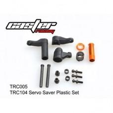 Caster Racing TRC005 - Caster Racing Servo Saver Plastic Set