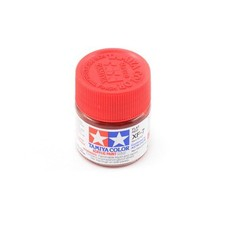 Tamiya TAMR1707 - 81707 Acrylic Mini XF7 Flat Red 1/3 oz