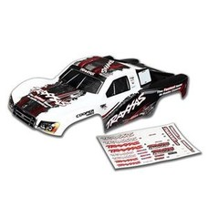 Traxxas TRA6848 - Traxxas Body, Slash 4X4, white (2014 paint) (painted, decals applied)
