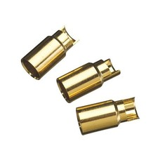 Great Planes GPMM3117 - Great Planes Gold Plate Bullet Connector Female 6mm (3)