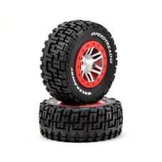 Dynamite DYN5117 - Dynamite Breakaway Tires Slash 2wd Rear 4wd All