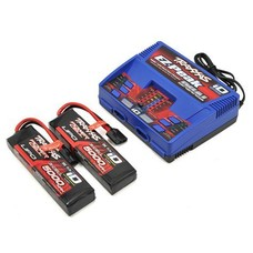 """Traxxas TRA2990 - Traxxas EZ-Peak 3S """"Completer Pack"""" Dual Multi-Chemistry Battery Charger"""