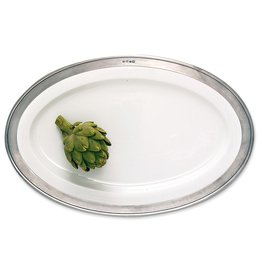 MATCH CONVIVIO OVAL SERVING PLATTER LARGE