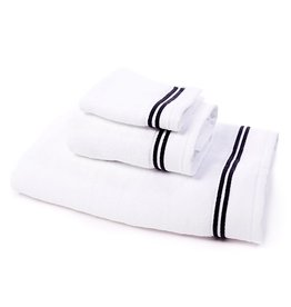 SFERRA BROS. AURA TOWEL BLACK