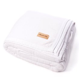 PEACOCK ALLEY ALL SEASONS BLANKET WHITE