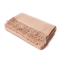 Alicia Adams CLASSIC THROW BARLEY