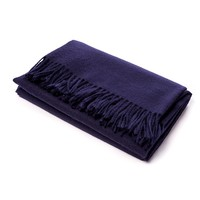 Alicia Adams CLASSIC THROW NAVY