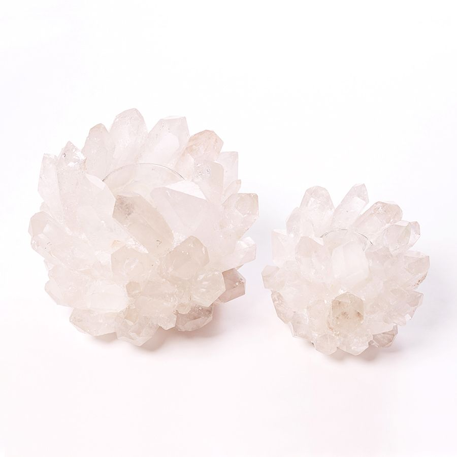 KATHRYN MCCOY DESIGNS QUARTZ VOTIVE