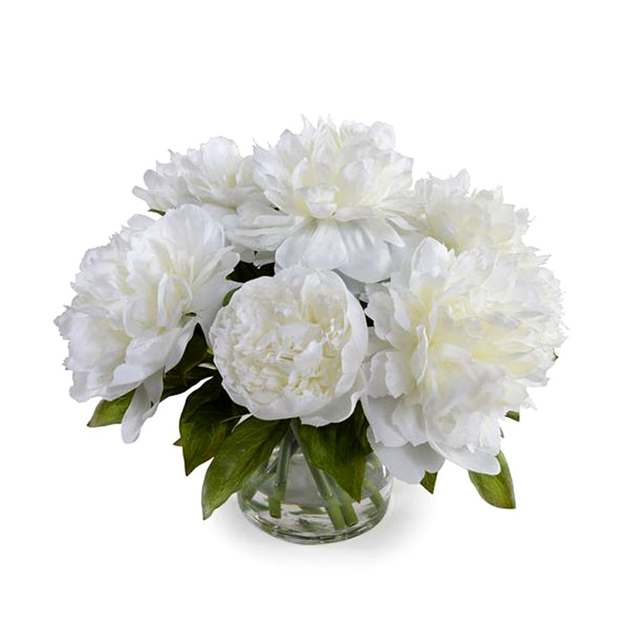New growthtrans east white peony bouquet small longoria collection new growthtrans east white peony bouquet small izmirmasajfo