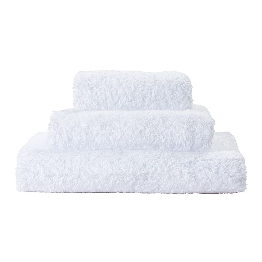 ABYSS & HABIDECOR SUPER PILE TOWEL WHITE