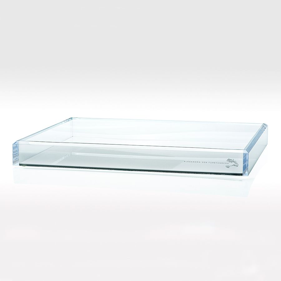 ALEXANDRA VON FURSTENBERG TRAY WHITE COCKTAIL MEDIUM