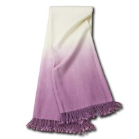 JOHANNA HOWARD DIP DYE THROW IN LILAC
