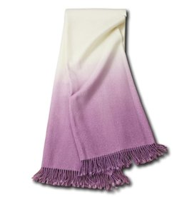 JOHANNA HOWARD JOHANNA HOWARD DIP DYE THROW IN LILAC