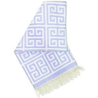 JONATHAN ADLER ENTERPRISE GREEK KEY THROW IN PURPLE