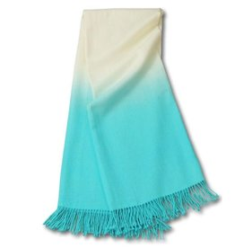 JOHANNA HOWARD JOHANNA HOWARD DIP DYE THROW IN POOL BLUE