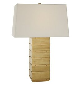 VISUAL COMFORT KELLY WEARSTLER NATURAL BRASS BLEEKER LAMP