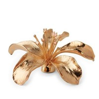 AERIN AERIN ROSE QUARTZ LILY FLOWER OBJECT