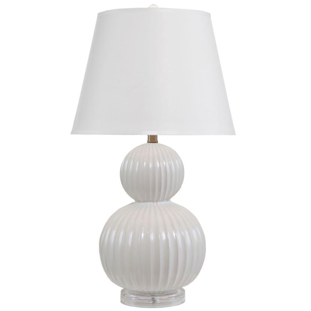 GET LIT PELICAN BAY OYSTER TABLE LAMP