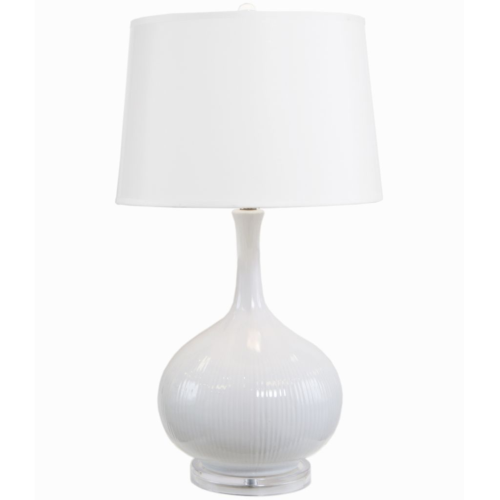 GET LIT COCO FRENCH WHITE TABLE LAMP