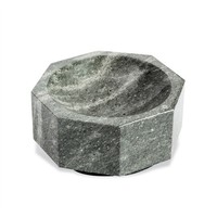 INTERLUDE HOME OCTAVIA GREY MARBLE BOWL