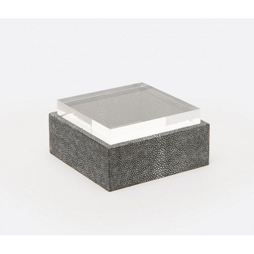MADE GOODS COOL GREY JASEN SQUARE BOX
