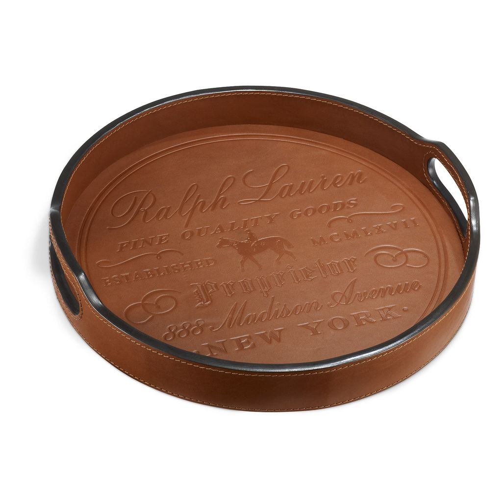 RALPH LAUREN HOME CANTWELL RND BAR TRAY