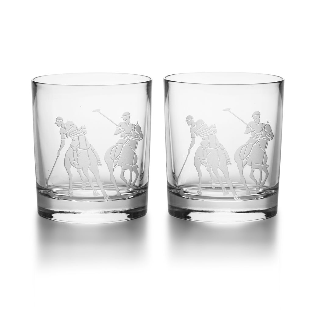 RALPH LAUREN HOME RALPH LAUREN GARRETT DOUBLE OLD FASHION PAIR