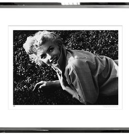TROWBRIDGE MARILYN IN SILVER LEAF FRAME