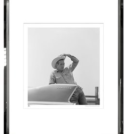 TROWBRIDGE PAUL NEWMAN CADILLAC PHOTOGRAPH