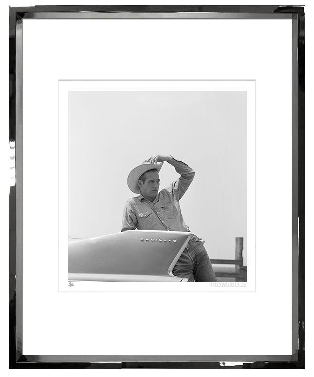 TROWBRIDGE PAUL NEWMAN CADILLAC PHOTOGRAPH