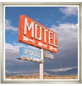 TROWBRIDGE ART MOTEL PHOTOGRAPH 25X30""