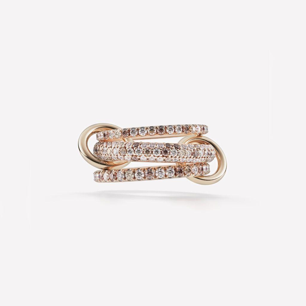 SPINELLI KILCOLLIN SPINELLI KILCOLLIN 18K ROSE GOLD NOVA ROSE RING