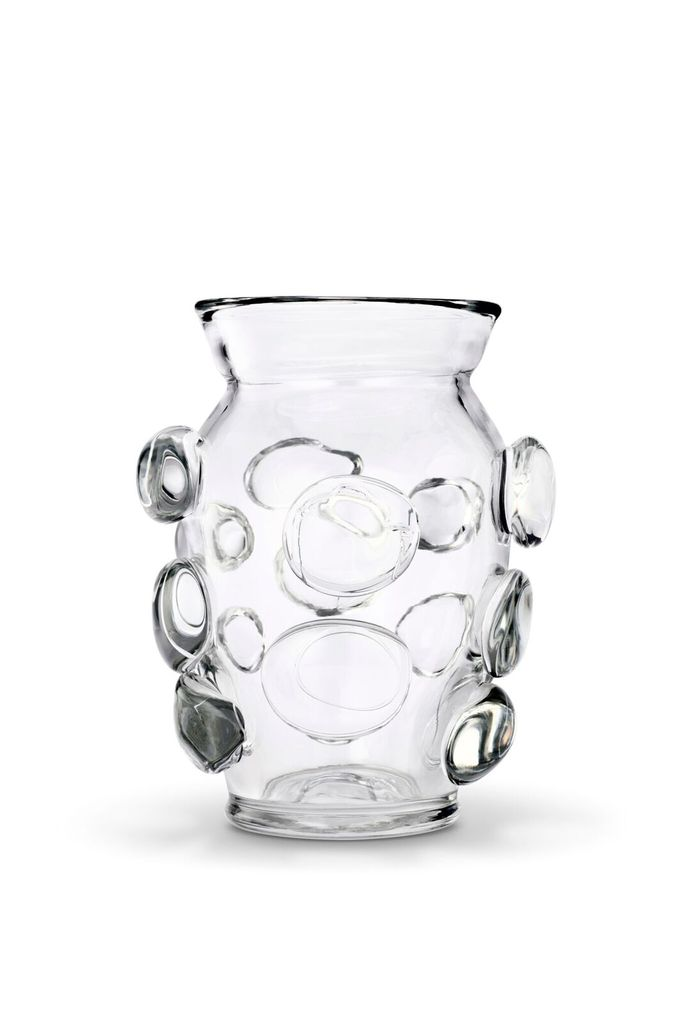 AERIN AERIN LARGE CLEAR ABLE VASE