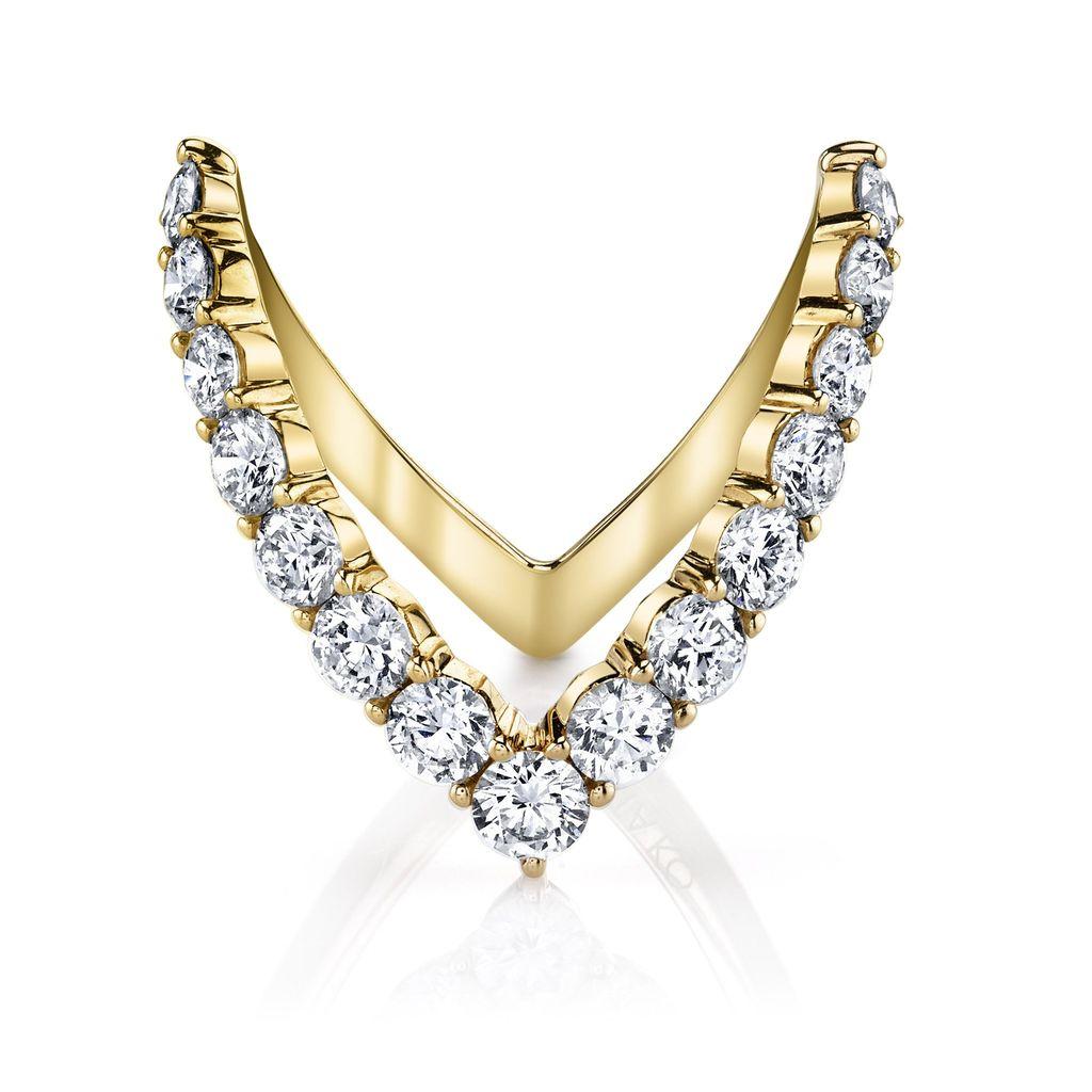 ANITA KO ANITA KO ROUND DIAMOND V RING