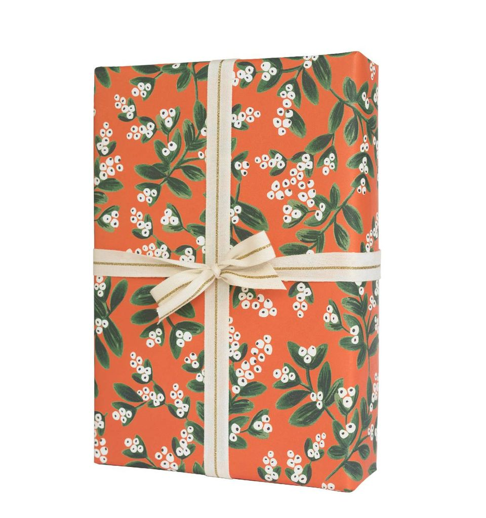 Rifle Paper Co. RP WP - Mistletoe Wrap Sheet, 19.5 x 27