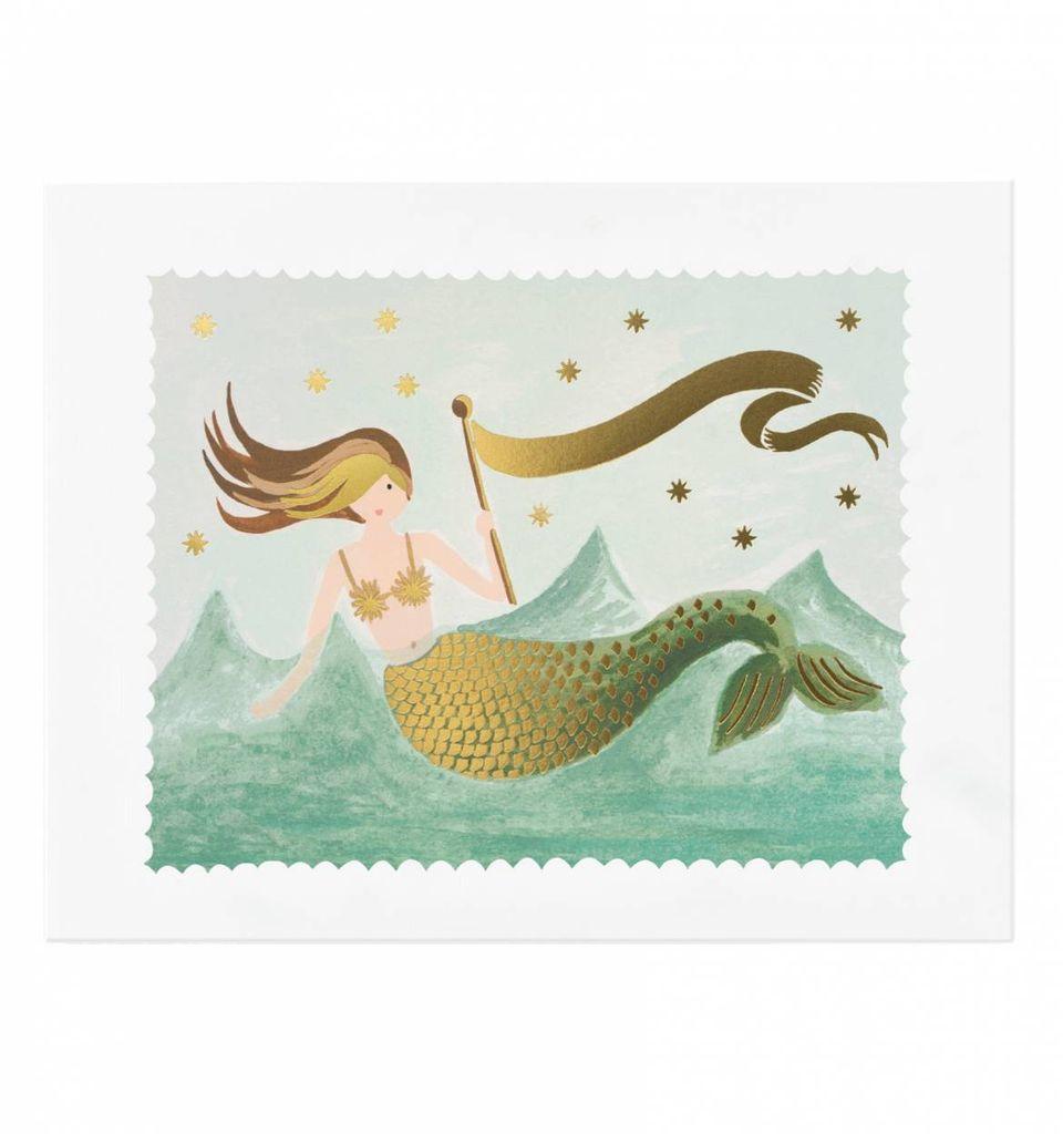 Rifle Paper Co. Mermaid Art Print