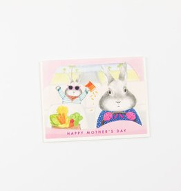 Dear Hancock Driving Bunny Mother's Day Card