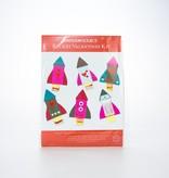 Waste Not Paper Rocket Ship Valentine's Kit