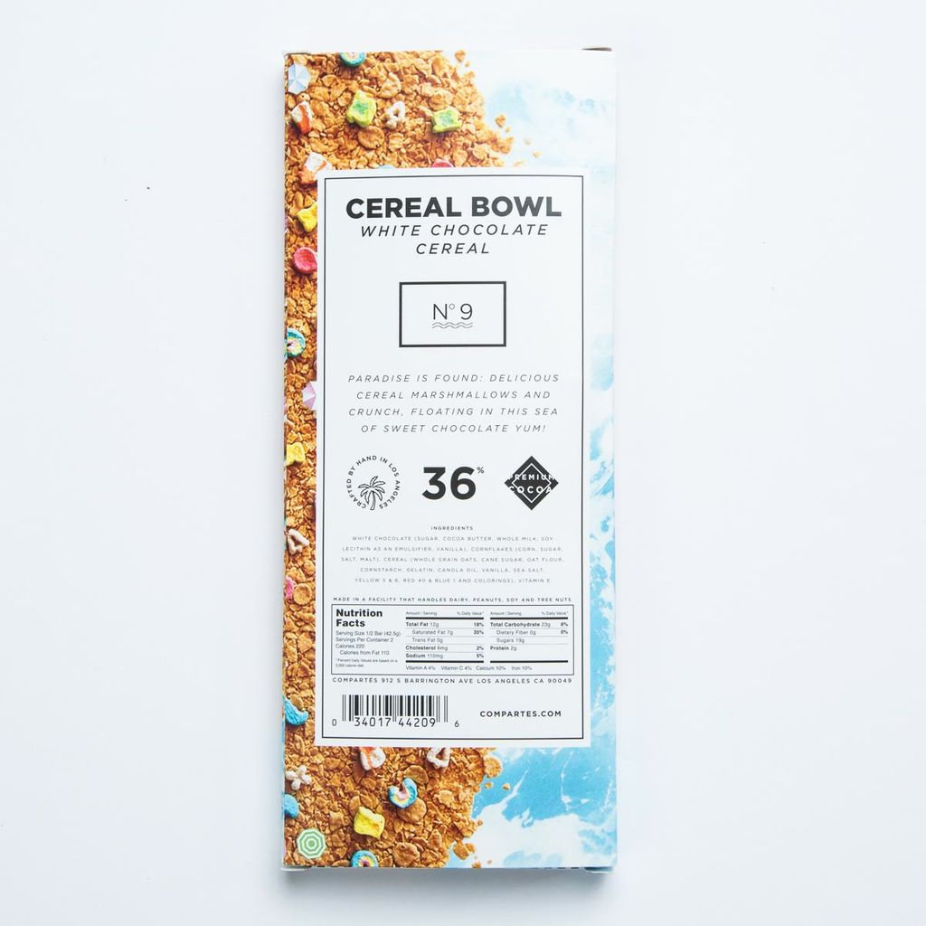 Compartes Chocolatier Cereal Bowl White Chocolate Cereal